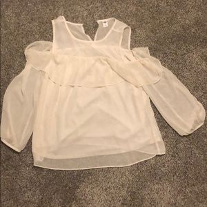 Old Navy Cream Blouse